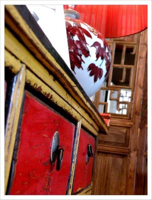 古典的客厅橱柜效果图