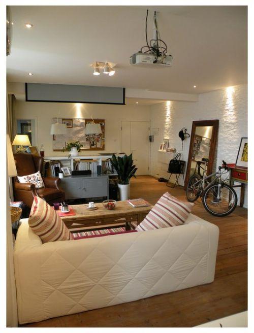 古典木地板的客厅装潢