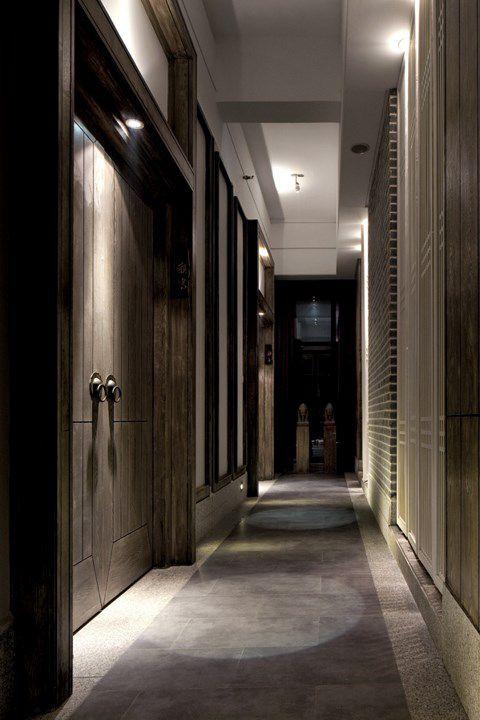 田园木质的走廊设计