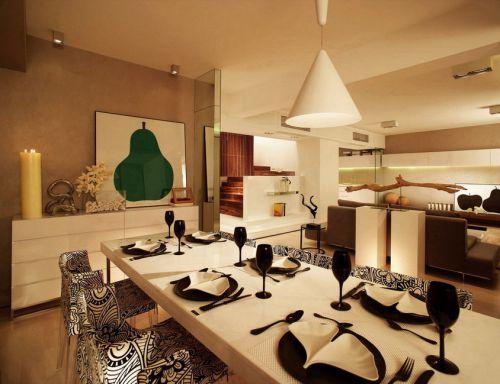 罗马艺术风格餐厅设计