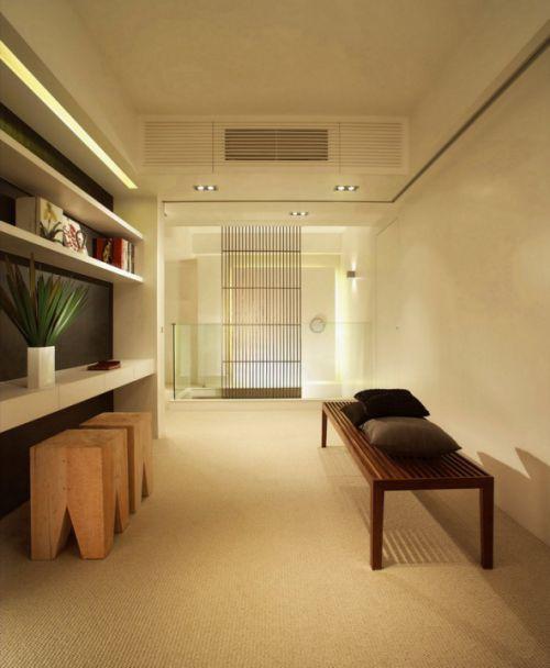 简约风格日式书房设计