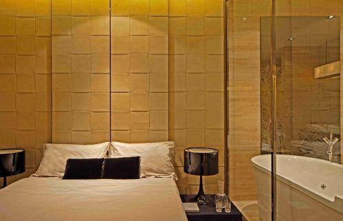 韩式风格卧室背景墙效果图