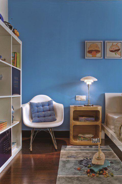 简约儿童卧室休闲区域设计