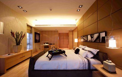 韩式风格卧室灯光设计效果图