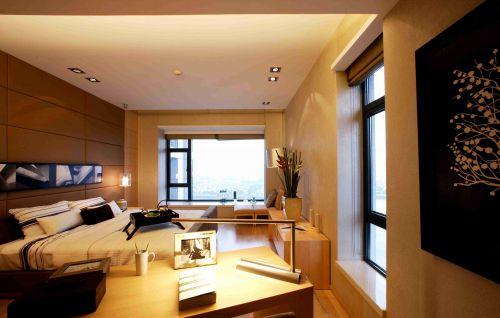 韩式风格卧室飘窗装修效果图
