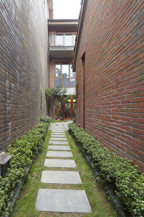 别墅花园小道设计
