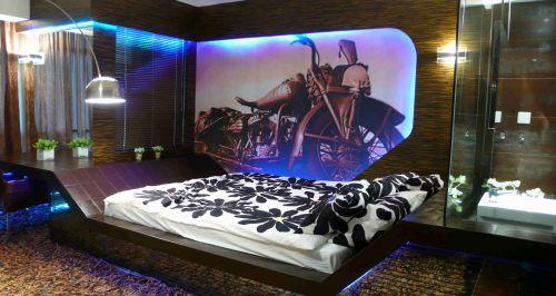 港式风格卧室背景墙效果图