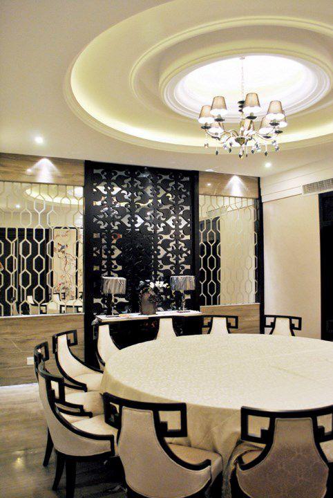 中式风格豪华餐厅设计