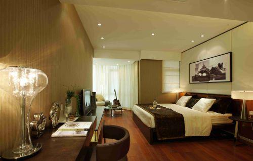 简约卧室背景墙装饰装修设计效果图