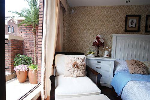 欧式卧室装修实景图