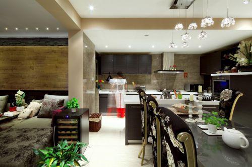 开放式厨房简约风格装修案例