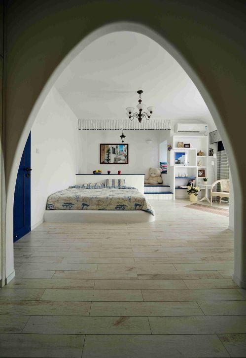 地中海风格卧室拱门装修设计