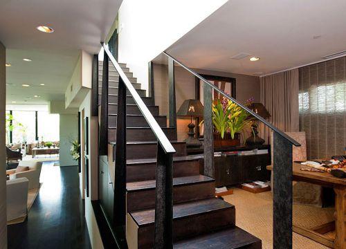 田园风格复式住宅楼梯设计