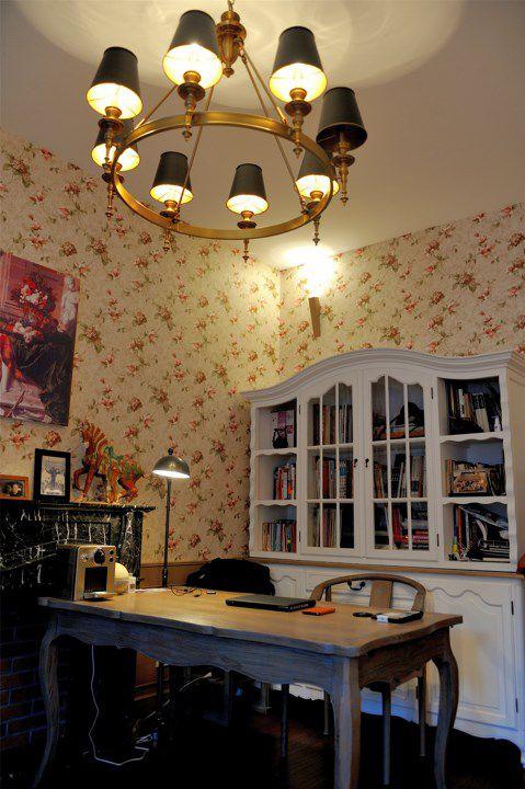 古典美式风格书房装潢