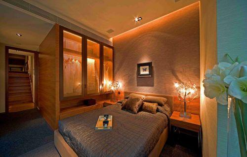 东南亚风格卧室灯具设计效果图