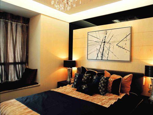 韩式装修风格卧室背景墙设计