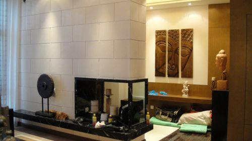 东南亚风格玄关处设计