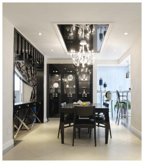 黑色简约创意灯具设计