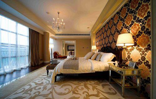 古典欧式卧室吊顶装修案例赏析