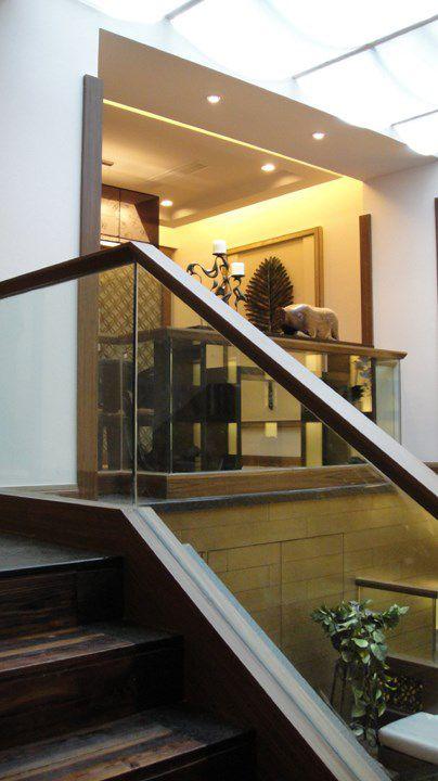 简约的中式风格楼梯设计