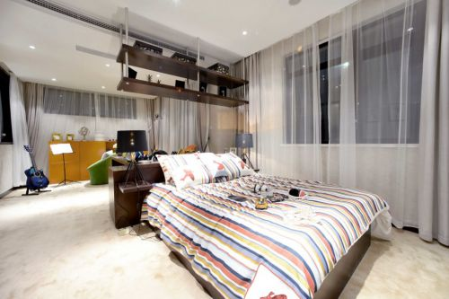 简约风格开放式卧室装修