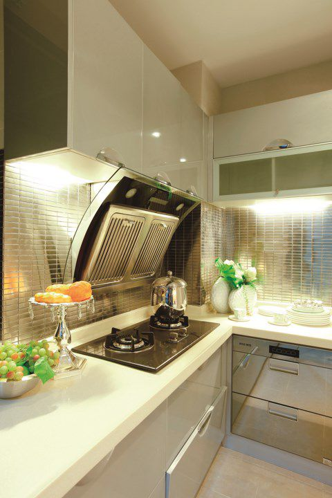 简欧风格厨房装修效果图