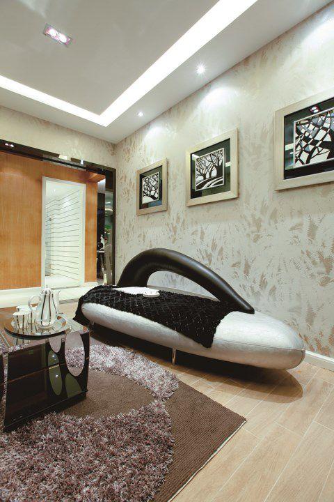 简欧风格客厅背景墙装饰画
