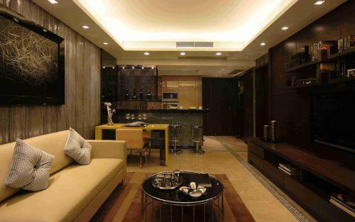 新古典风格客厅沙发背景墙设计