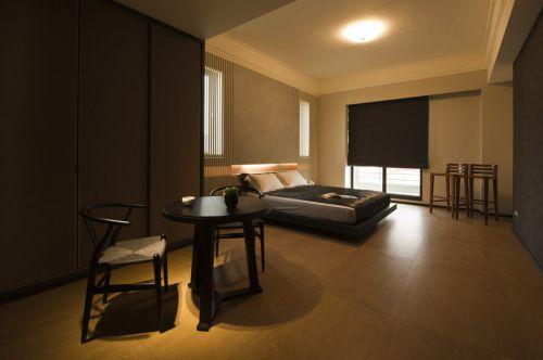 极致简约日式装修卧室榻榻米设计