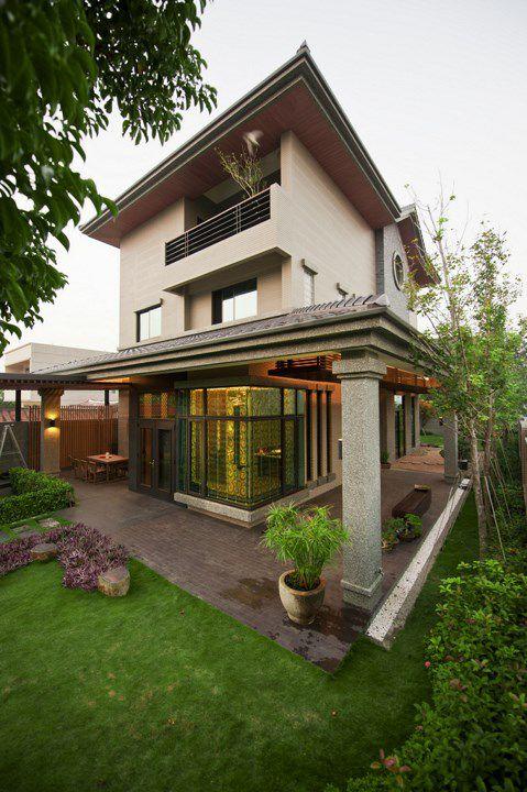 中式风格别墅庭院设计