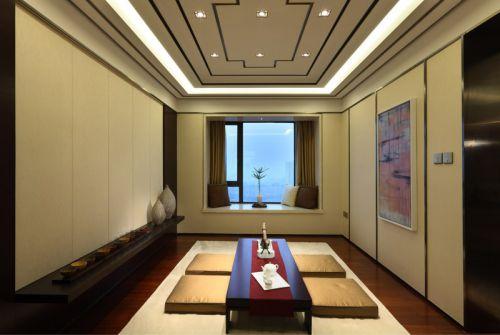日式装修客厅飘窗设计