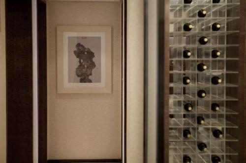 中式风格酒柜装修案例