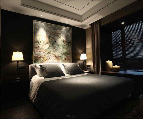 朴素的中式风格卧室装修