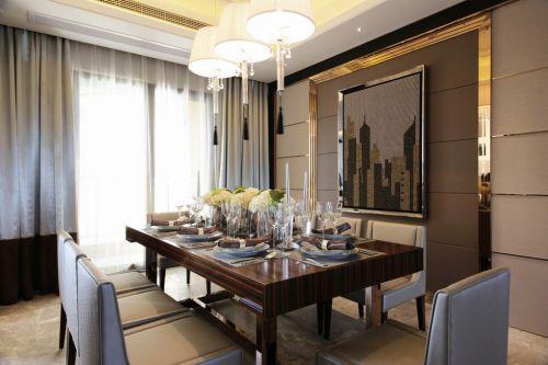 欧式装修餐厅设计