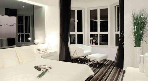 简欧风格卧室装饰设计效果图
