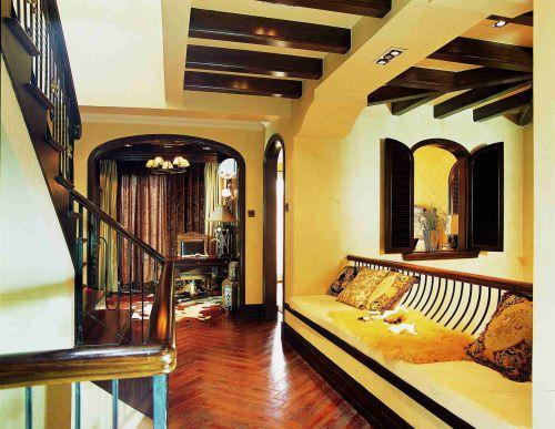 东南亚风格过道吊顶装饰设计