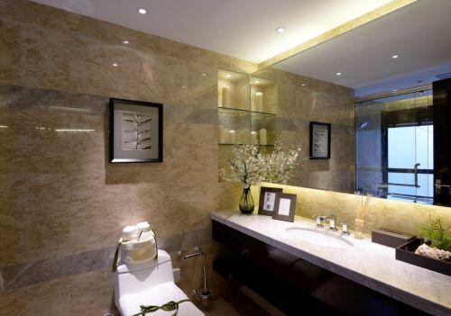 卫生间墙面装饰效果图