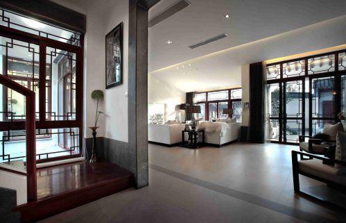 新中式自建别墅装修设计图片