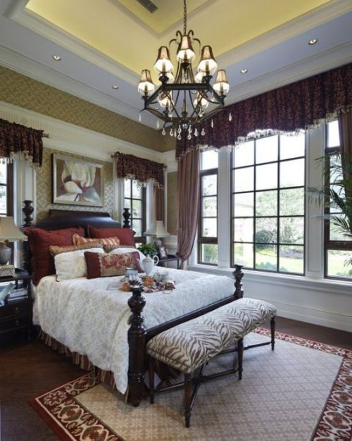 新古典风格卧室门窗设计