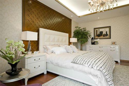 简欧风格白色的卧室装潢