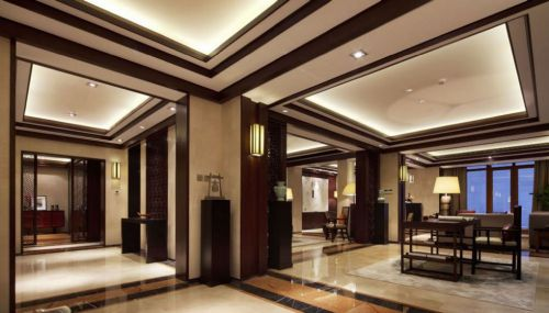 中式風格別墅餐廳裝修案例