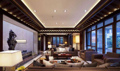 中式风格豪华客厅装潢