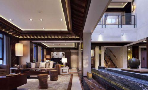 中式风格豪华别墅装修案例
