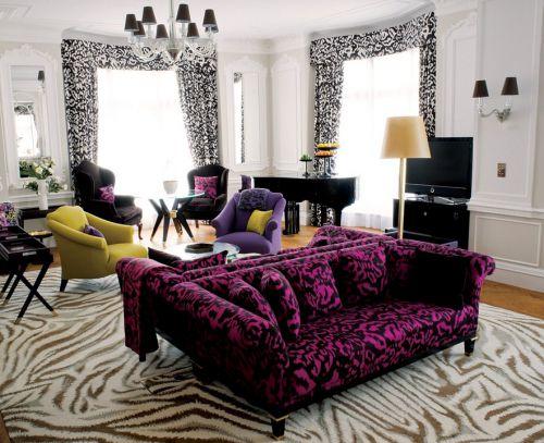 时尚混搭风格客厅装修案例