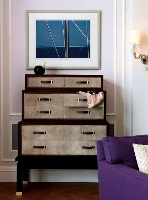 北欧风格的收纳柜设计