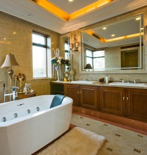 经典欧式风格卫生间设计