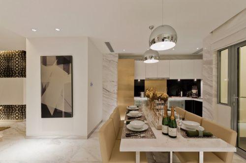 现代简约小餐厅装修效果图