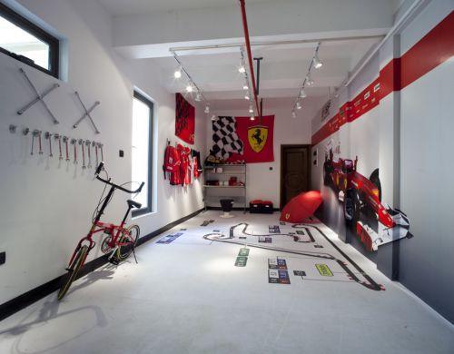 赛车主题儿童房间设计
