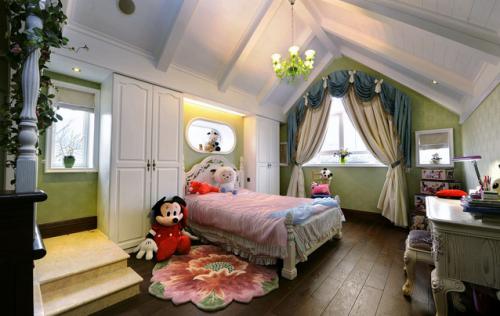 阁楼装修儿童房设计