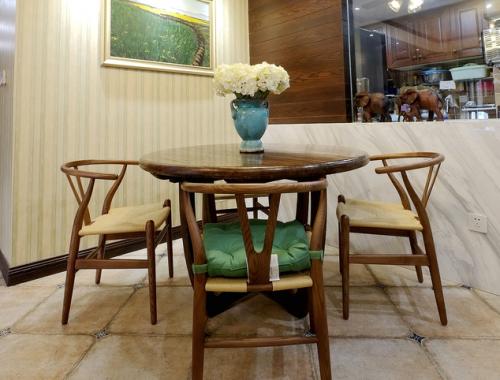 中式木質風格餐廳裝修效果圖